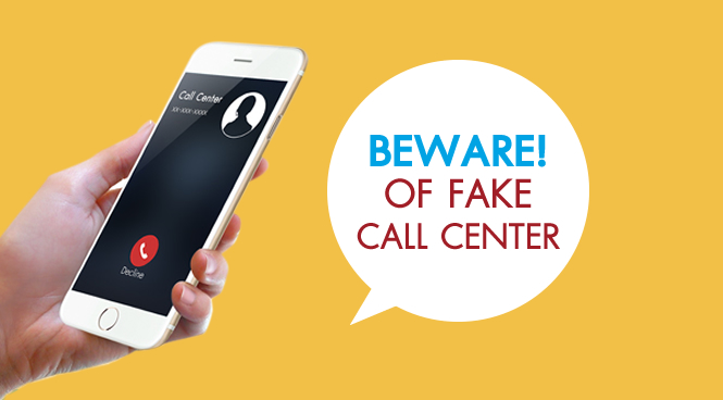 Protect yourself from Call Center Gang