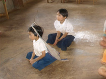A pilot project about developing schools in Royal Higness Princess Maha Chakri Sirindhorn