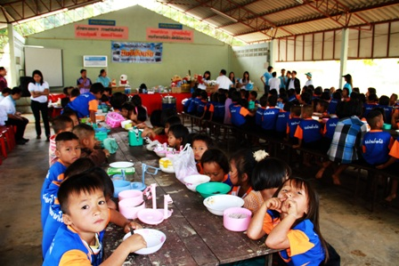 KTB supporting Lunch for School Children